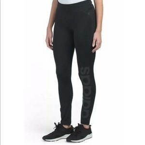 Adidas Mix Fab Tight Leggings NWT